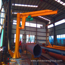 Fast Delivery for Pillar Jib Crane,Pillar Crane,Small Pillar Jib Crane,Pillar Mounted Floor Crane Wholesale From China electric hoist jib crane with 1ton export to South Africa Supplier