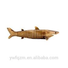nouveau jouet en bois de requin de mode