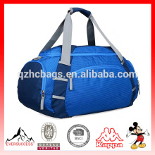 Tote de viaje de viaje resistente al agua llevar bolso de Weekender de equipaje