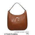 HEC Pu New Young Lady Brown Fashion Elegance Handbag Import Wholesale