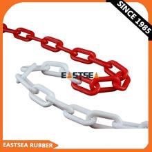 Cadena de seguridad de cadena de enlace de seguridad recubierta de plástico