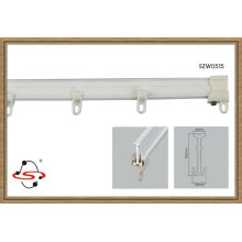 top sale I-shaped curved Plastic curtain track and rail