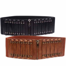 Western wide corset belt for woman
