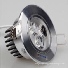 Diodo emissor de luz Downlight do COB da luz de teto 7W