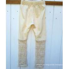 2015 Novos vestuário para crianças Colantes Knitted e Lace para crianças