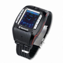 Watch Mobile Phone with 256MB to 2GB T-flash Card and 1.3-inch TFT Touch Screen Display