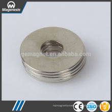 Cheap eco-friendly newly design super strong ring ndfeb magnet