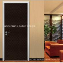 Portas interiores de melamina moderna