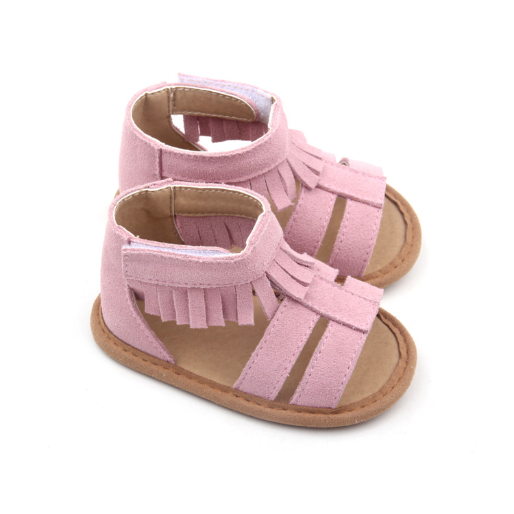 Fashion Leather Girls Moccasins Baby Sandal Shoes