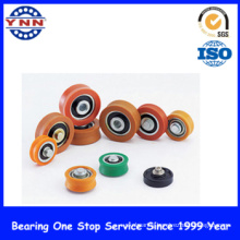 Flange/ Plastic V Groove Ball Bearings (for windows /doors/ bath room/ tables)