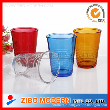 Colorful Drinking Glass