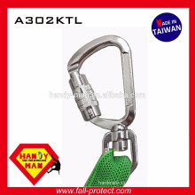 A302KTL aluminum medium twist lock carabiner