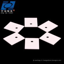 substrat céramique al2o3 à haute résistance à la température