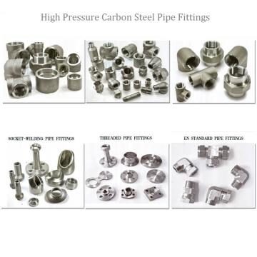 Hochdruck-Kohlenstoffstahl-Fittings