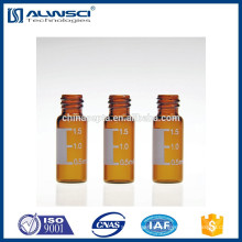 2ml autosampler vials 8mm standard opening mouth vials amber glass hplc vials