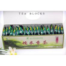 125g Chinesa clara calor perfumado arroz blocos de chá