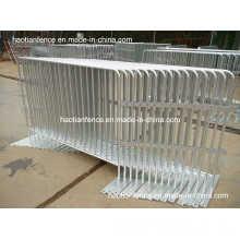 Barreras de control de muchedumbre galvanizadas por inmersión en caliente en Storeage