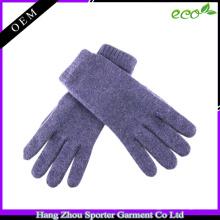 Gant de tricotage à la mode 16FZCG02 Gant de 100 cachemire echo-friendly