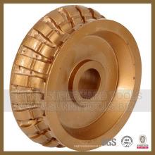 Roda do perfil do diamante, roda de moedura do diamante