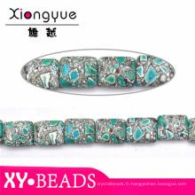 Gros oreiller forme pierres précieuses naturelles bijoux pierre billes