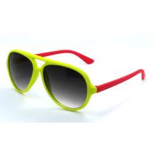 Óculos de sol da qualidade das crianças da forma com frame colorido