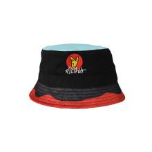 Moda Carnival Cartoon estilo cubo sombrero con bordado (U0024)
