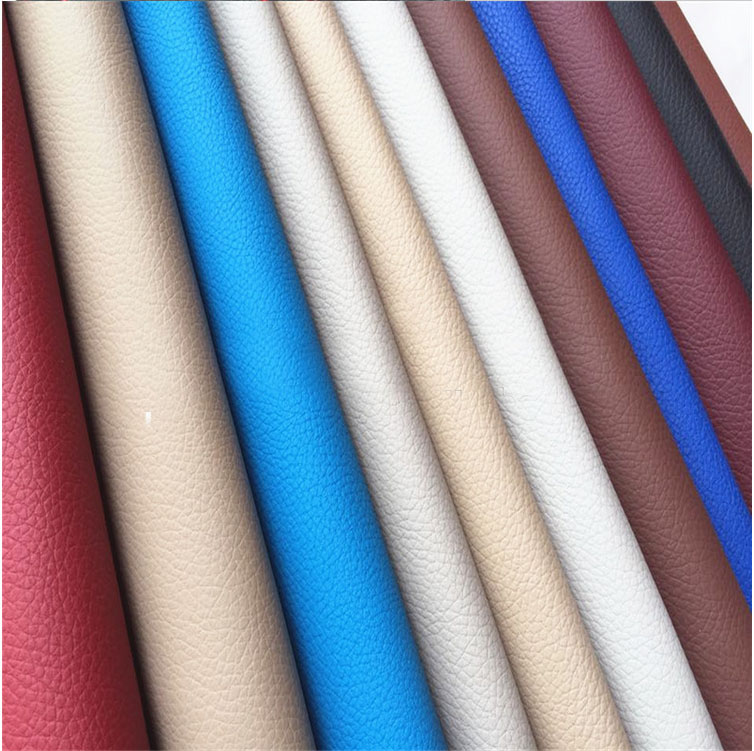 Flocking synthetic leather