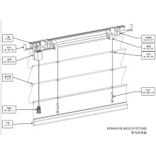 Raffrollos für Windows (IB-06)