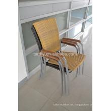 venta por mayor sillas de mimbre de calidad comercial de China muebles al aire libre