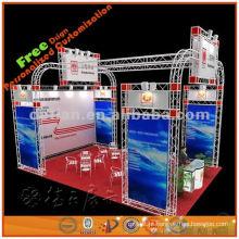 Torre de treliça de alumínio modular, suporte modular, fácil de instalar