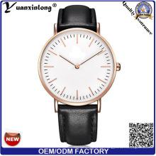 Yxl-006 2016 al por mayor de moda occidental de cuero de moda Dw relojes