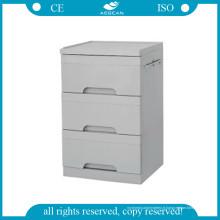 AG-Bc002 Cabinet de chevet médical Matériel ABS Cabinet d'hôpital