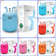 Refrigerant gas R134A with high purity 99.9%