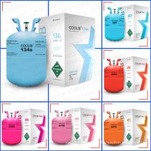 Gás fresco 134a refrigerante produtos de cuidados de carro por atacado