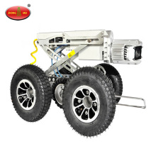 150-600mm Remote CCTV Camera Pipe Inspection Crawler