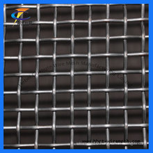 Black Crimped Screen Mesh