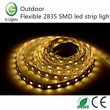 Extérieur flexible 2835 SMD led strip light
