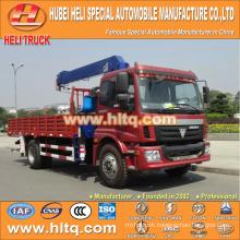 FOTON AUMAN 6.3 tons straight arm 4x2 truck mounted crane