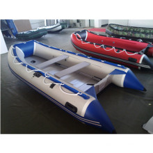 Ce Hot Sale 8 Persons 420 Rubber Inflatable Speed Boat