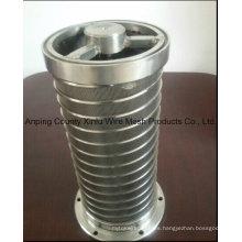 Elemento del filtro laminado invertido / Elemento del cilindro del alambre de la cuña