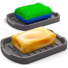 Soporte de esponja de silicona de grado alimenticio personalizado
