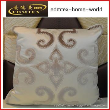 Embroidery Decorative Cushion Fashion Velvet Pillow (EDM0293)