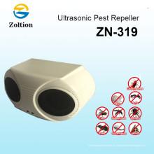 Zolition Precio de fábrica mejor control de plagas Ultrasonido Repelente de plagas con altavoces dobles ZN-319