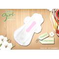 Disposable top natural organic menstrual pads