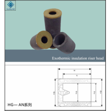 riser heard exothermic insulation