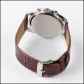 top fashion quartz leather watch men 2015, custom made watches