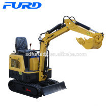 Équipement de construction 10kw mini-pelle hydraulique Digger (FWJ-1000-15)
