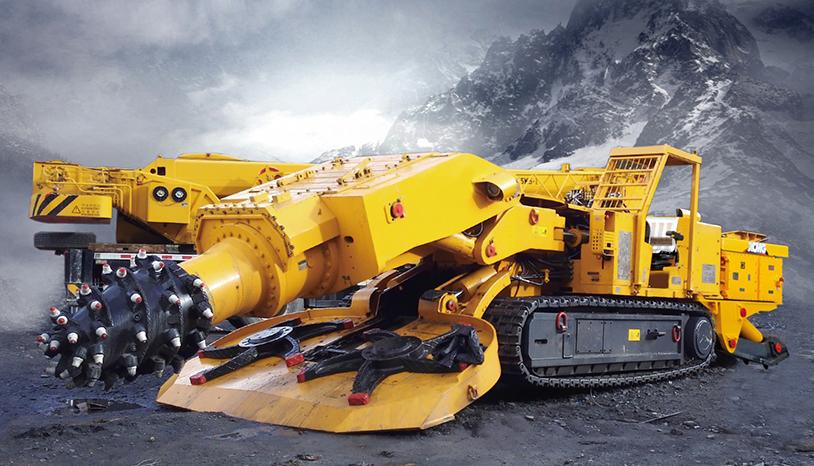 Mining Tunneling Roadheader
