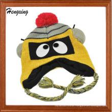 Beanie Hat Jacquard Knitted Cap