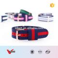 HOT SALE Streifen Farbe Nylon Gürtel Uhrenarmband